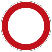 Verkehrszeichen 250